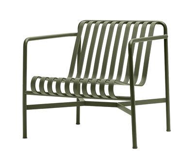 Palissade Lounge Sessel / mit niedriger Rückenlehne - R & E Bouroullec - Hay