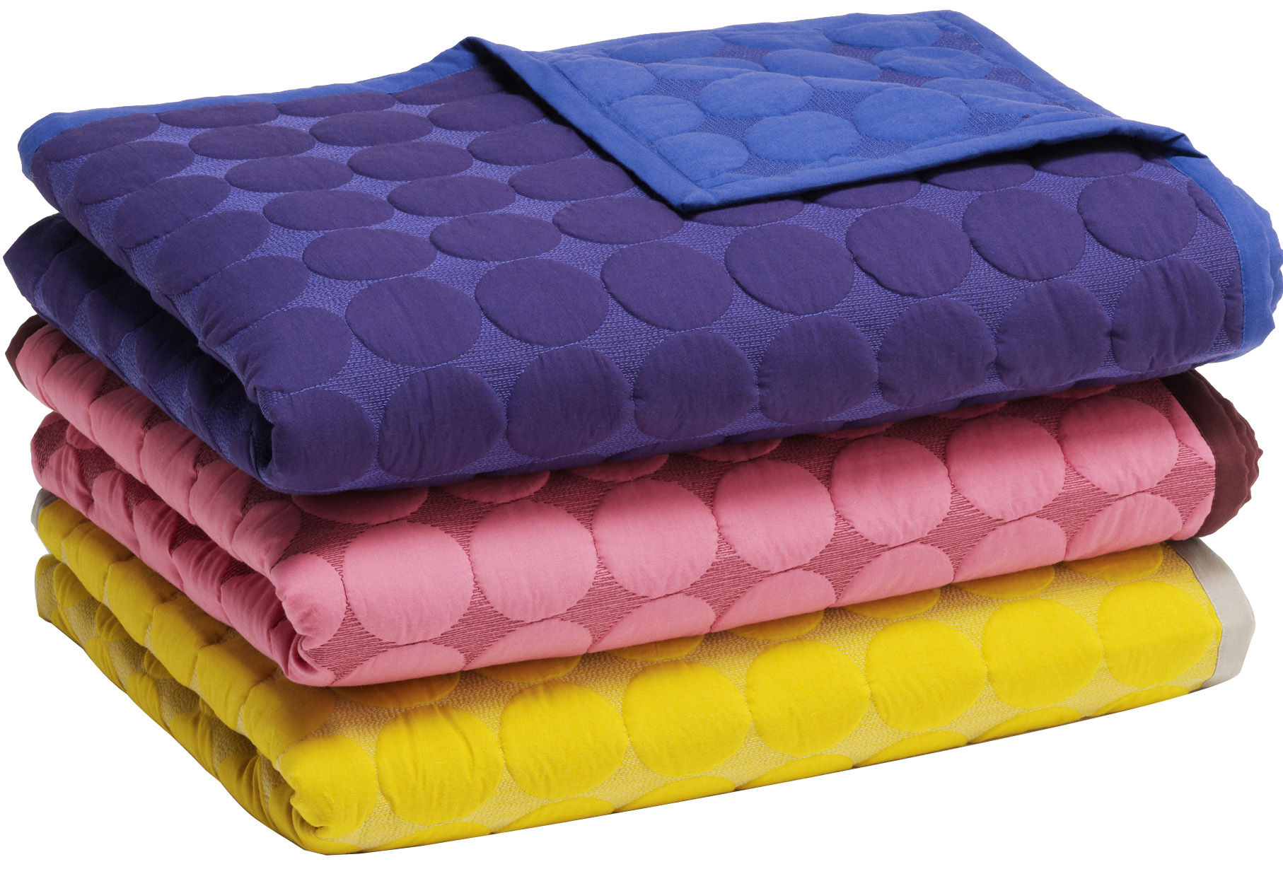 plaid baby dot 175 x 125 cm rose bordeaux hay. Black Bedroom Furniture Sets. Home Design Ideas