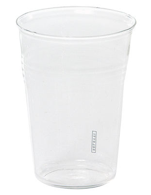 Tableware - Glasses - Estetico quotidiano Water glass - The glass by Seletti - Transparent - Glass