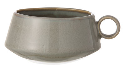 Tischkultur - Tassen und Becher - Neu Tasse - Ferm Living - Grau - emaillierte Keramik