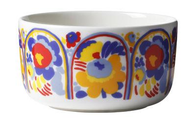 Arts de la table - Saladiers, coupes et bols - Bol Karuselli / Ø 12,5 cm - Marimekko - Karuselli / Multicolore - Porcelaine