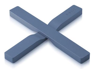 Dessous de plat magnétique - Eva Solo bleu moonlight en matière plastique