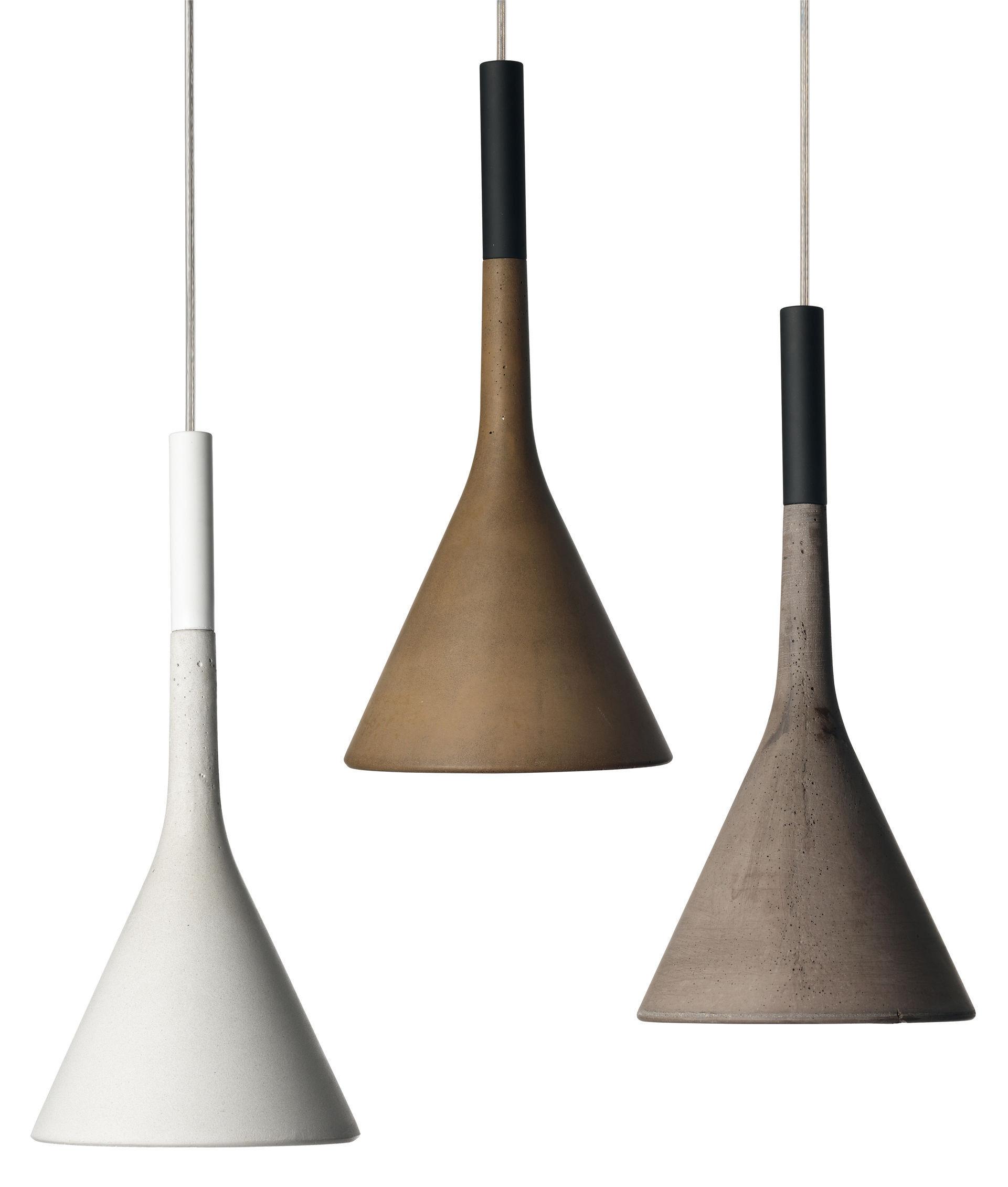 scopri sospensione aplomb led grigio cemento di foscarini. Black Bedroom Furniture Sets. Home Design Ideas