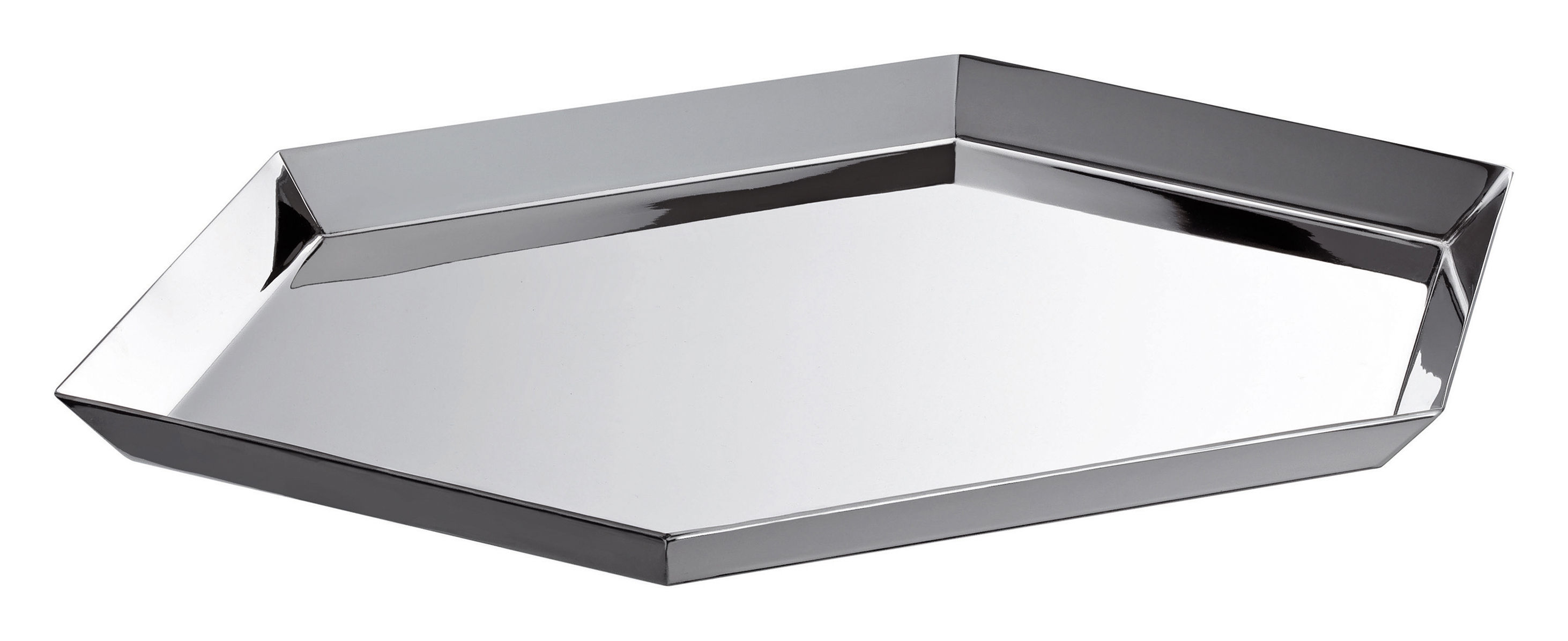 architettura tray by gio ponti silver by christofle. Black Bedroom Furniture Sets. Home Design Ideas