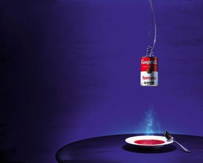 suspension canned light rouge blanc ingo maurer. Black Bedroom Furniture Sets. Home Design Ideas