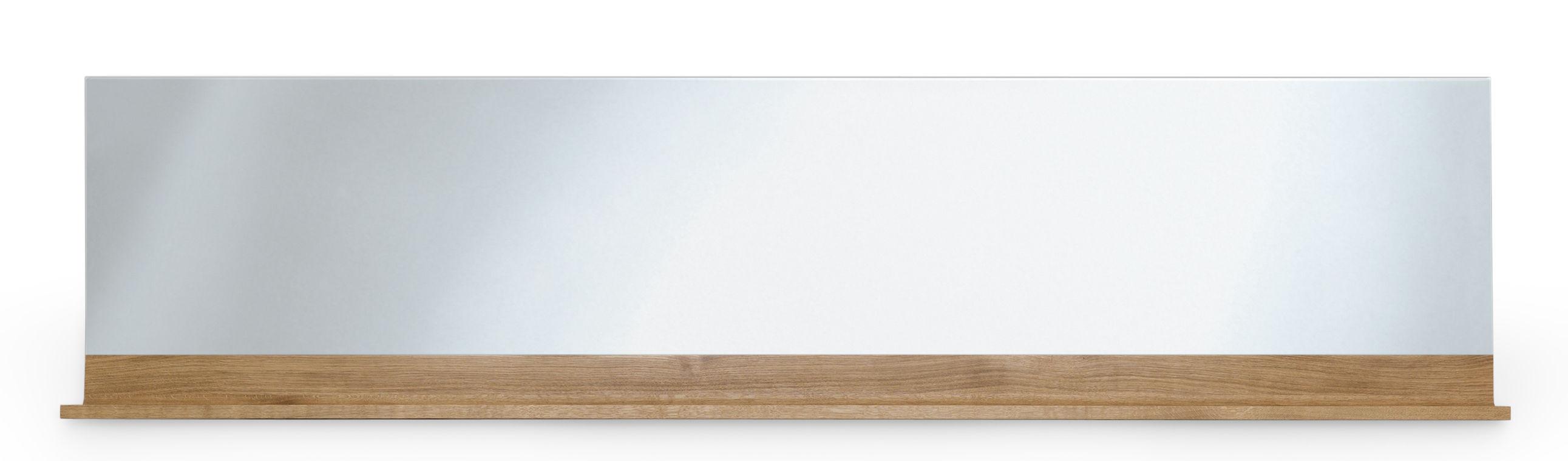 Miroir antlitz horizontal l 228 cm horizontal ch ne naturel zeitraum for Miroir horizontal