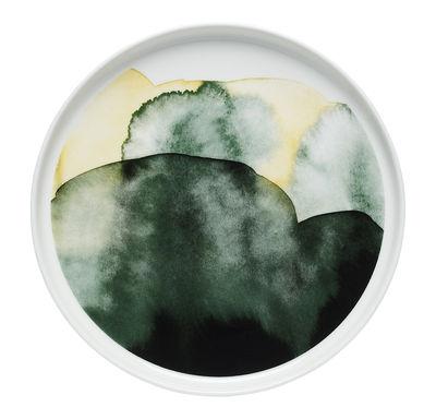 Assiette à dessert Oiva Sääpäiväkirja Ø 20 cm Marimekko jaune,vert en céramique