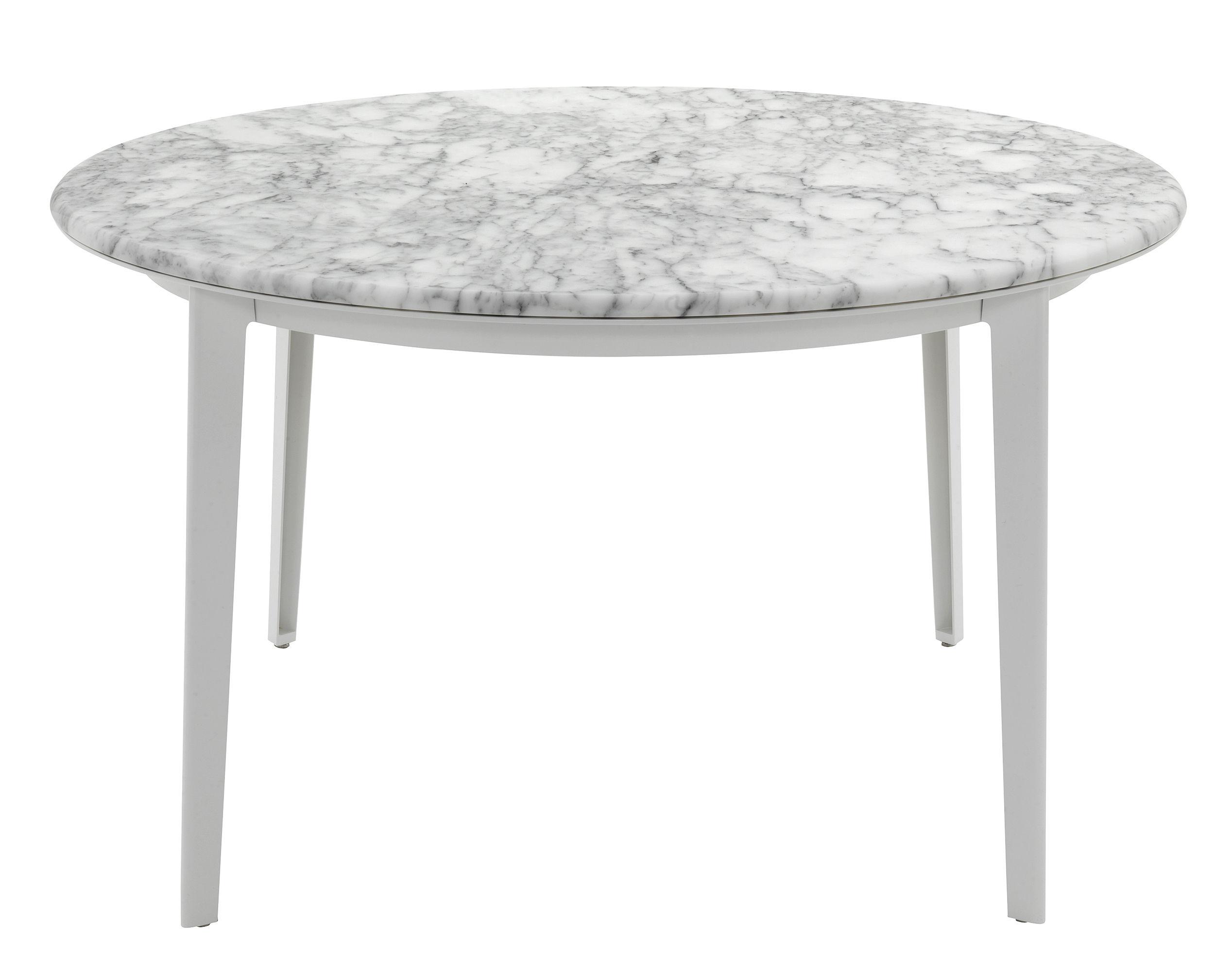 table railway plateau marbre 129 cm plateau en marbre blanc structure blanche de padova. Black Bedroom Furniture Sets. Home Design Ideas