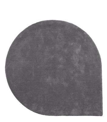 Tapis Stilla / 160 x 130 cm - Tufté main - AYTM gris en tissu