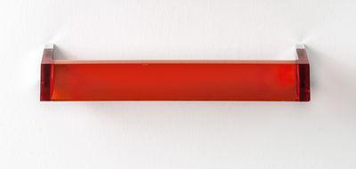Porte serviettes Rail L 30 cm Kartell orange tangerine en matière plastique