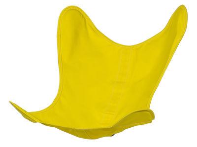 Housse Coton / Pour fauteuil AA Butterfly - AA-New Design bouton d´or en tissu