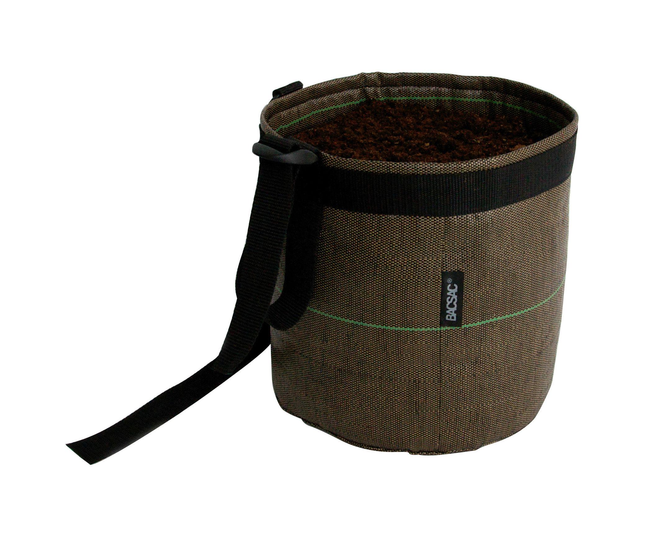 pot suspendu suspendu geotextile 3 l outdoor marron 3l bacsac. Black Bedroom Furniture Sets. Home Design Ideas