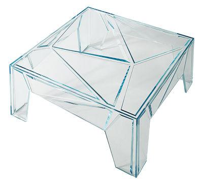 HYPERtable Couchtisch - / Glas - 96 x 96 cm Transparent by ...