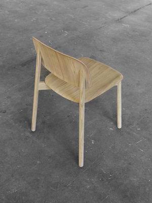 Möbel   Stühle   Soft Edge Stuhl / Fußgestell Holz   Hay   Eiche Natur