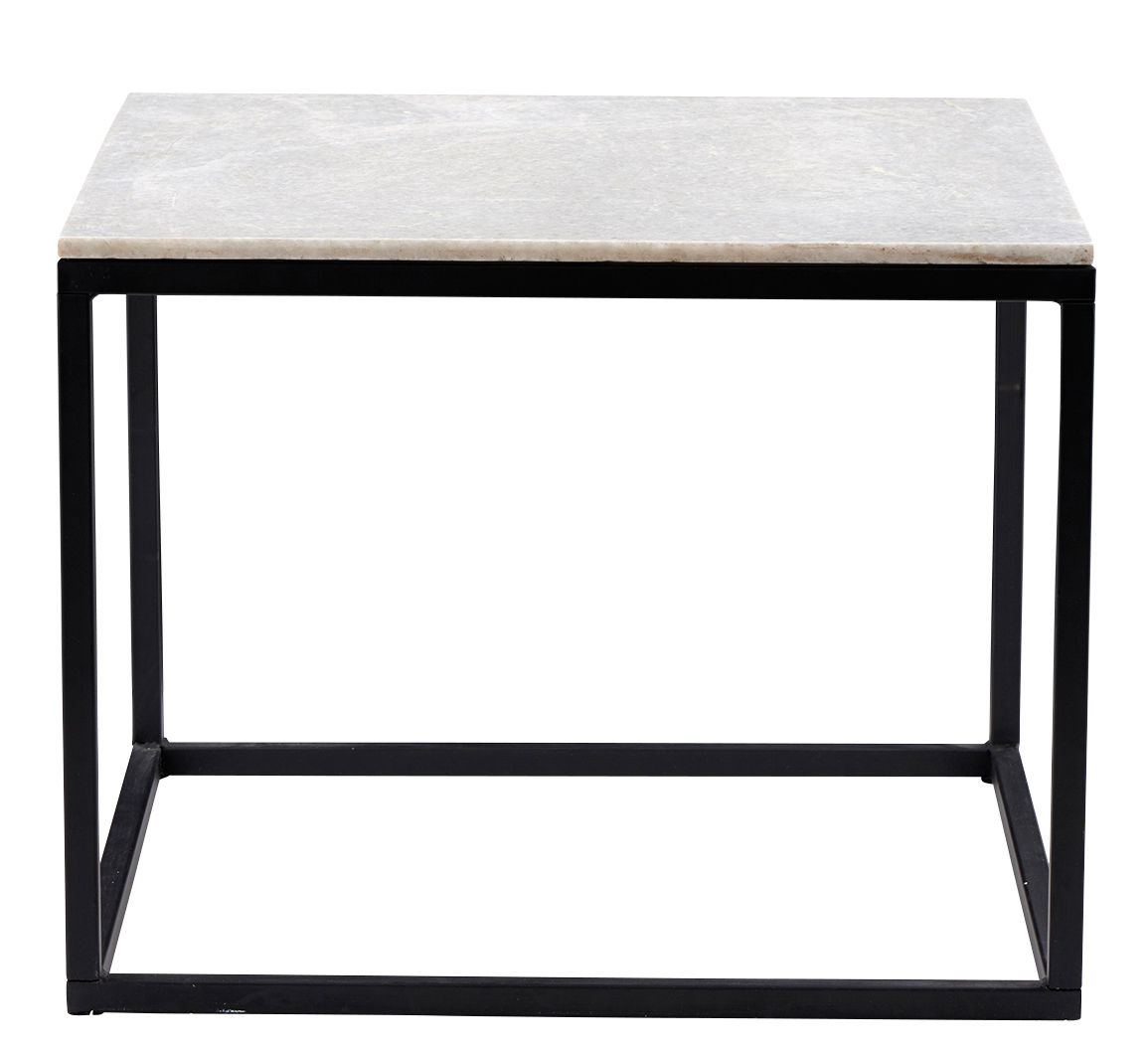 Coffee table marble top 60 x 60 cm marble top by for Table 160 cm avec rallonge