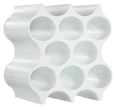 Foto Portabottiglie Setup di Koziol - Bianco - Materiale plastico