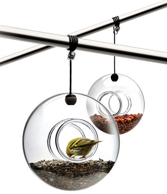 Outdoor - Ornaments & Accessories - Bird feeder by Eva Solo - Transparent glass - Mouth blown glass