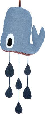 Déco - Pour les enfants - Mobile Whale - Ferm Living - Bleu - Coton, Polyester