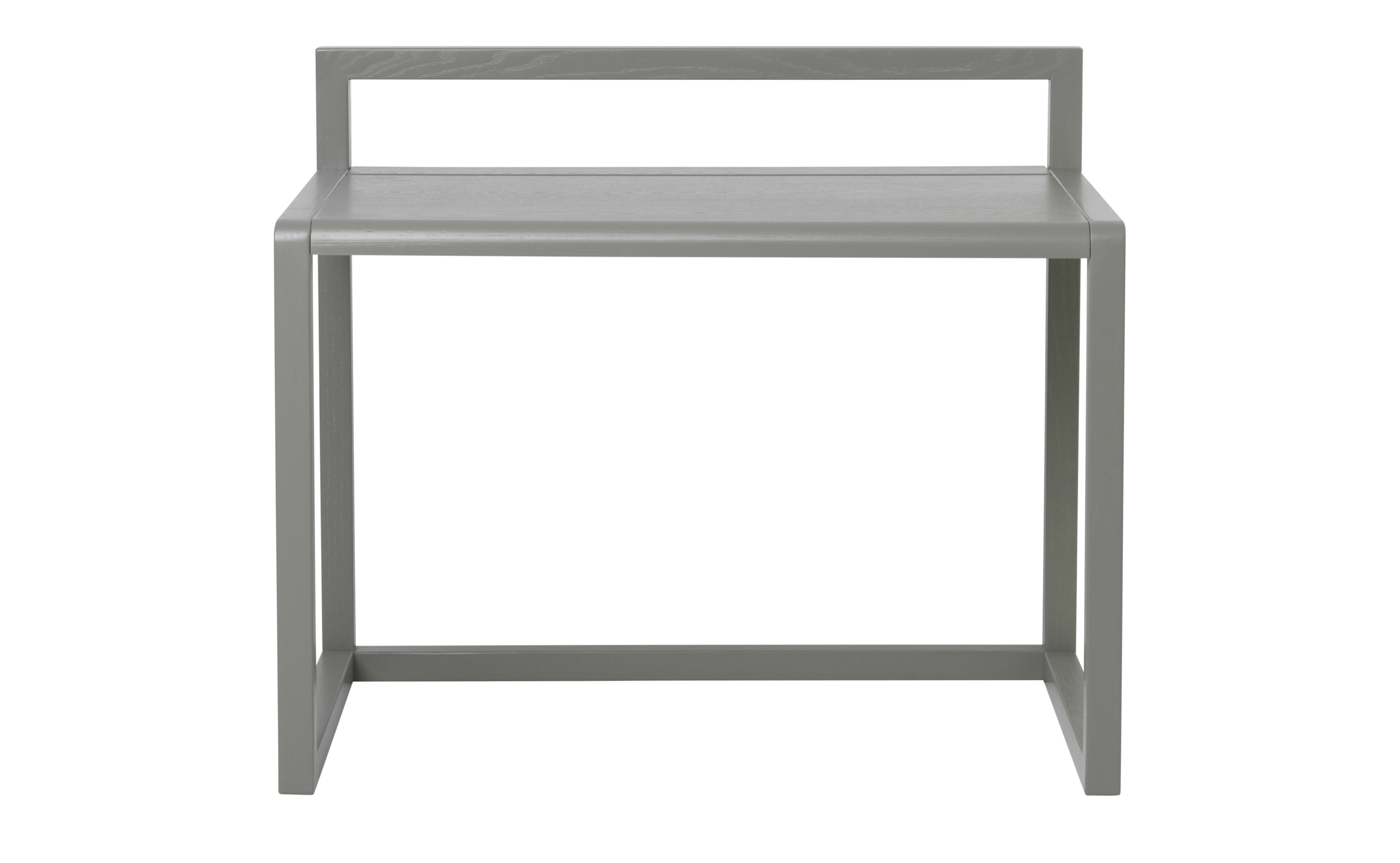 Bureau enfant little architect bois l 70 cm gris for Bureau 70 cm largeur