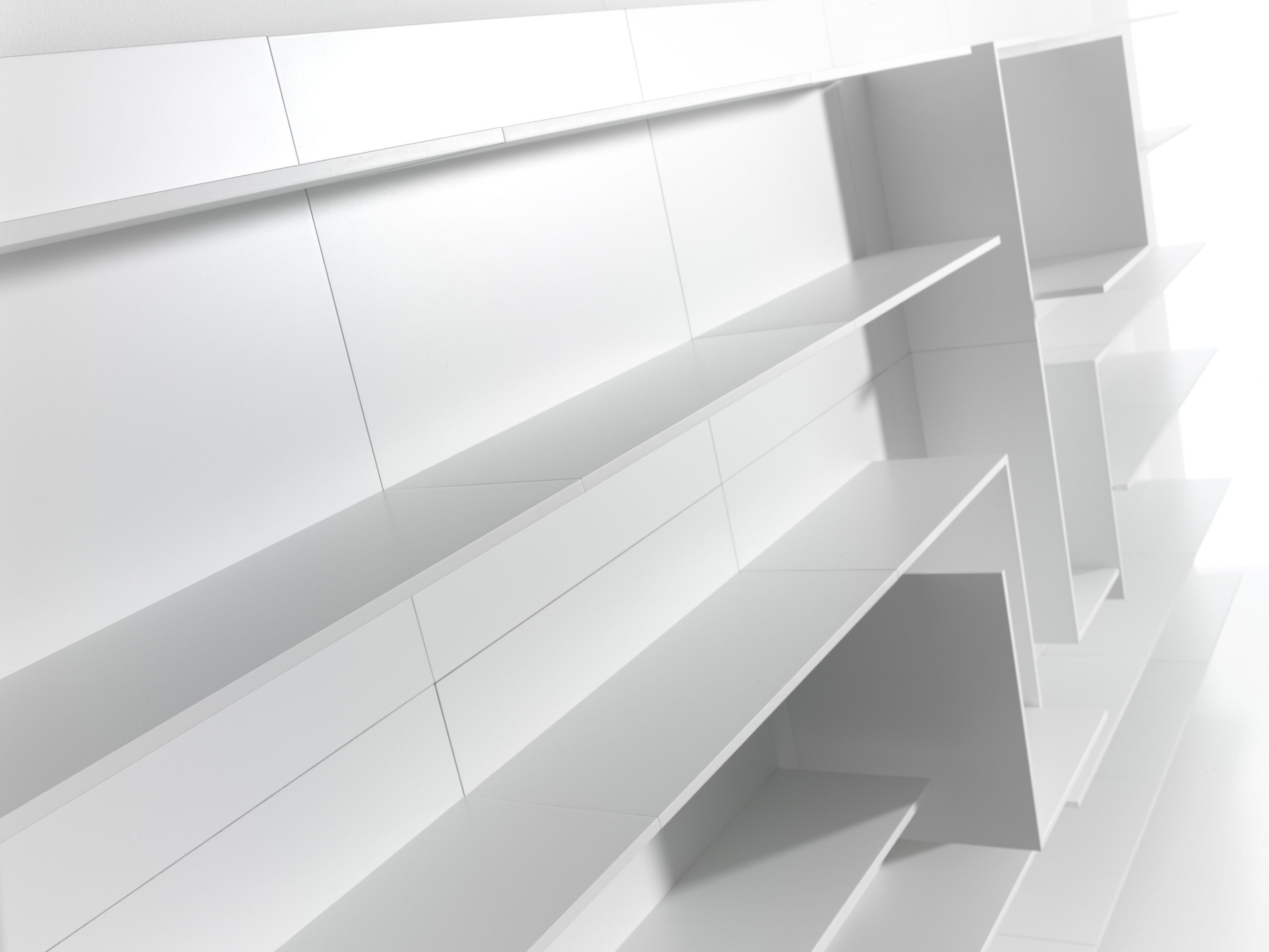 vita n 16 bookcase l 300 x h 180 cm white by mdf italia. Black Bedroom Furniture Sets. Home Design Ideas