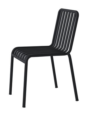 Chaise empilable Palissade R E Bouroullec Hay anthracite en métal