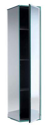 Mobilier - Meubles de rangement - Armoire Prism / Miroir - H 195 cm - Glas Italia - Miroir - Verre