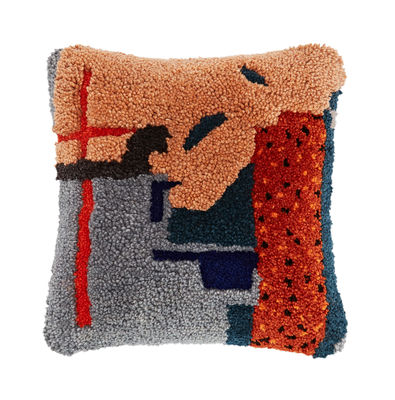 Coussin Abstract 45 x 45 cm Edition limitée Tom Dixon multicolore en tissu