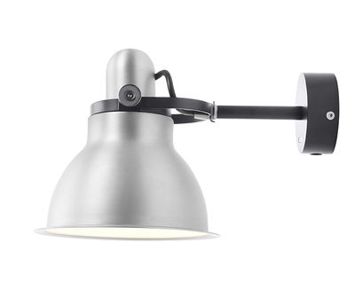 Type 1228 Wandleuchte / Metallic - Anglepoise - Schwarz,Silber