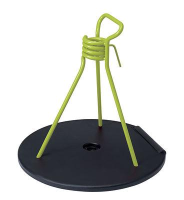 Pied de parasol Zébulon / Universel - Fermob verveine,réglisse en métal