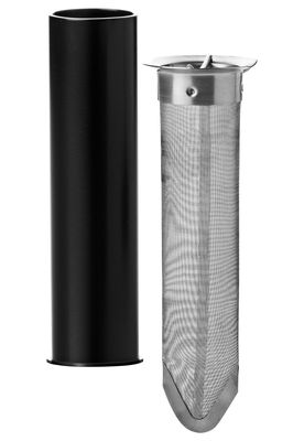 Tableware - Tea & Coffee Accessories - Tea filter - Tea strainer & its case for Isotherm jug by Stelton - Tea strainer & its case - Steel - ABS, Stainless steel