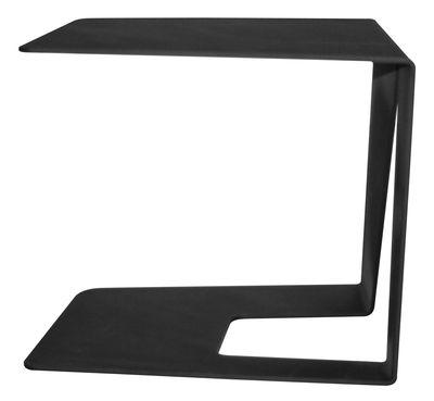 Mobilier - Tables basses - Table d'appoint M2 / Acier - 44 x 38 cm - Quinze & Milan - Noir - Acier