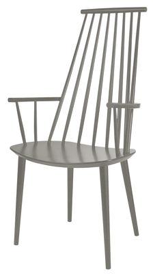 J110 Sessel / Holz - Hay - Graubeige