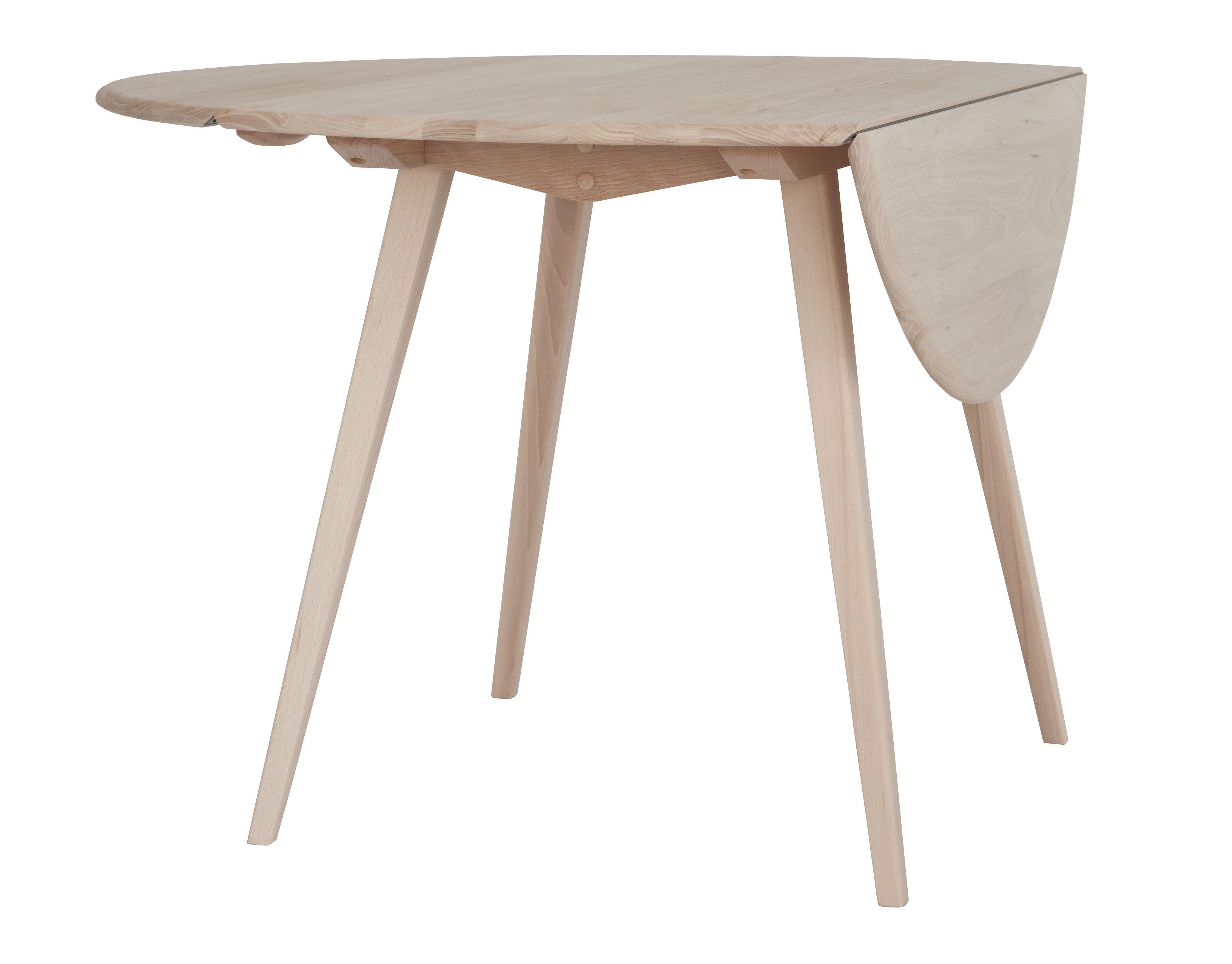 drop leaf extending table 110 cm oak natural wood by ercol. Black Bedroom Furniture Sets. Home Design Ideas