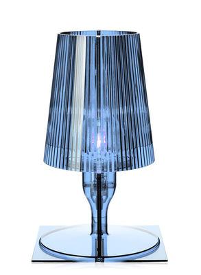 Scopri Lampada da tavolo Take, Blu grigio di Kartell, Made In Design ...