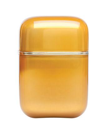Bougie parfumée Oyster / Kartell Frangrances - H 19 cm - Kartell orange en matière plastique