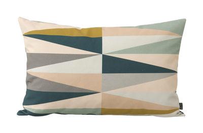 Coussin Spear / Petit modèle - 60 x 40 cm - Ferm Living multicolore en tissu