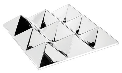 Foto Specchio murale Sculptures - / 9 piramidi - Panton 1965 di Verpan - Specchio - Materiale plastico