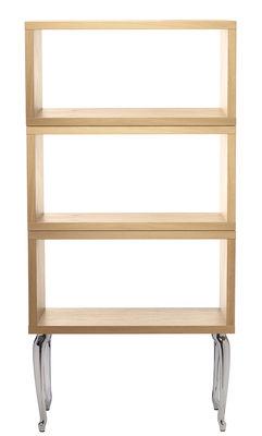 etag re bassotti haute l 72 x h 151 cm ch ne blanchi moooi. Black Bedroom Furniture Sets. Home Design Ideas