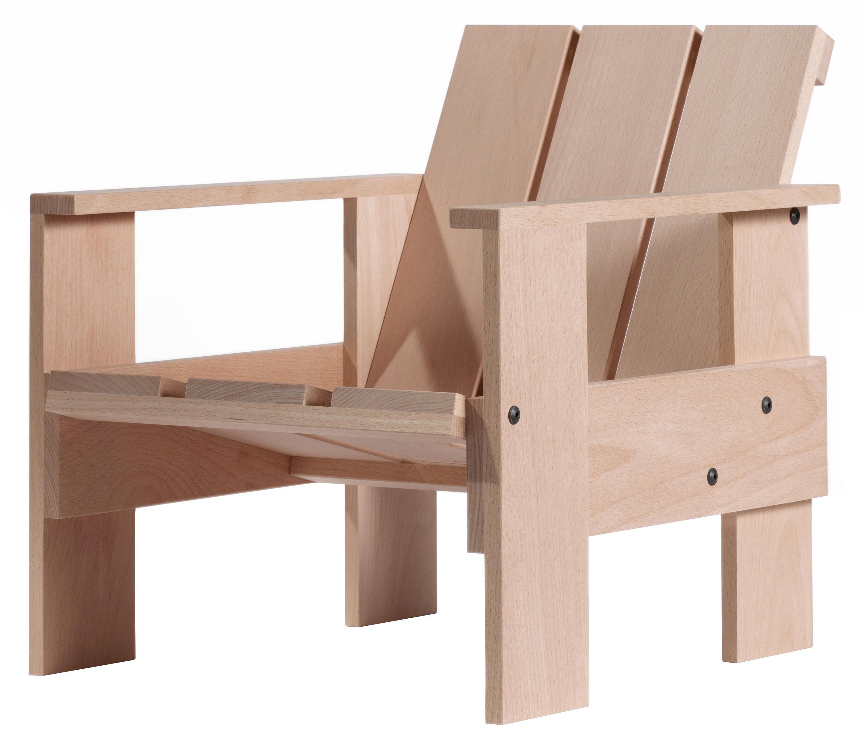 Scopri poltrona bambini crate chair junior faggio for Poltrona bambini