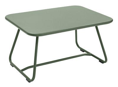 Tavolino basso Sixties / Acciaio - 75 x 55 cm - Fermob - Cactus - Metallo