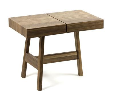 noci nussbaum marmor internoitaliano beistelltisch. Black Bedroom Furniture Sets. Home Design Ideas