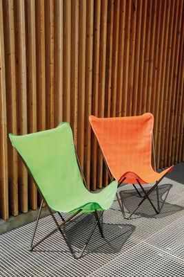 fauteuil maxi pop up pliable corail structure noire lafuma. Black Bedroom Furniture Sets. Home Design Ideas
