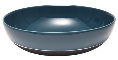 Saladier Sicilia grand modèle / Ø 33 cm - Maison Sarah Lavoine blanc,noir,bleu sarah en céramique