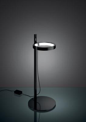 lampe de table ipparco led noir artemide. Black Bedroom Furniture Sets. Home Design Ideas