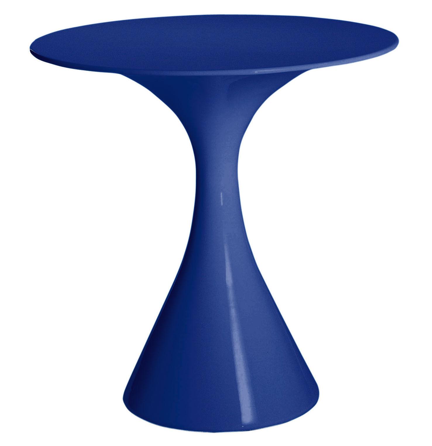 Table de jardin kissi kissi bleu driade for Table jardin bleu