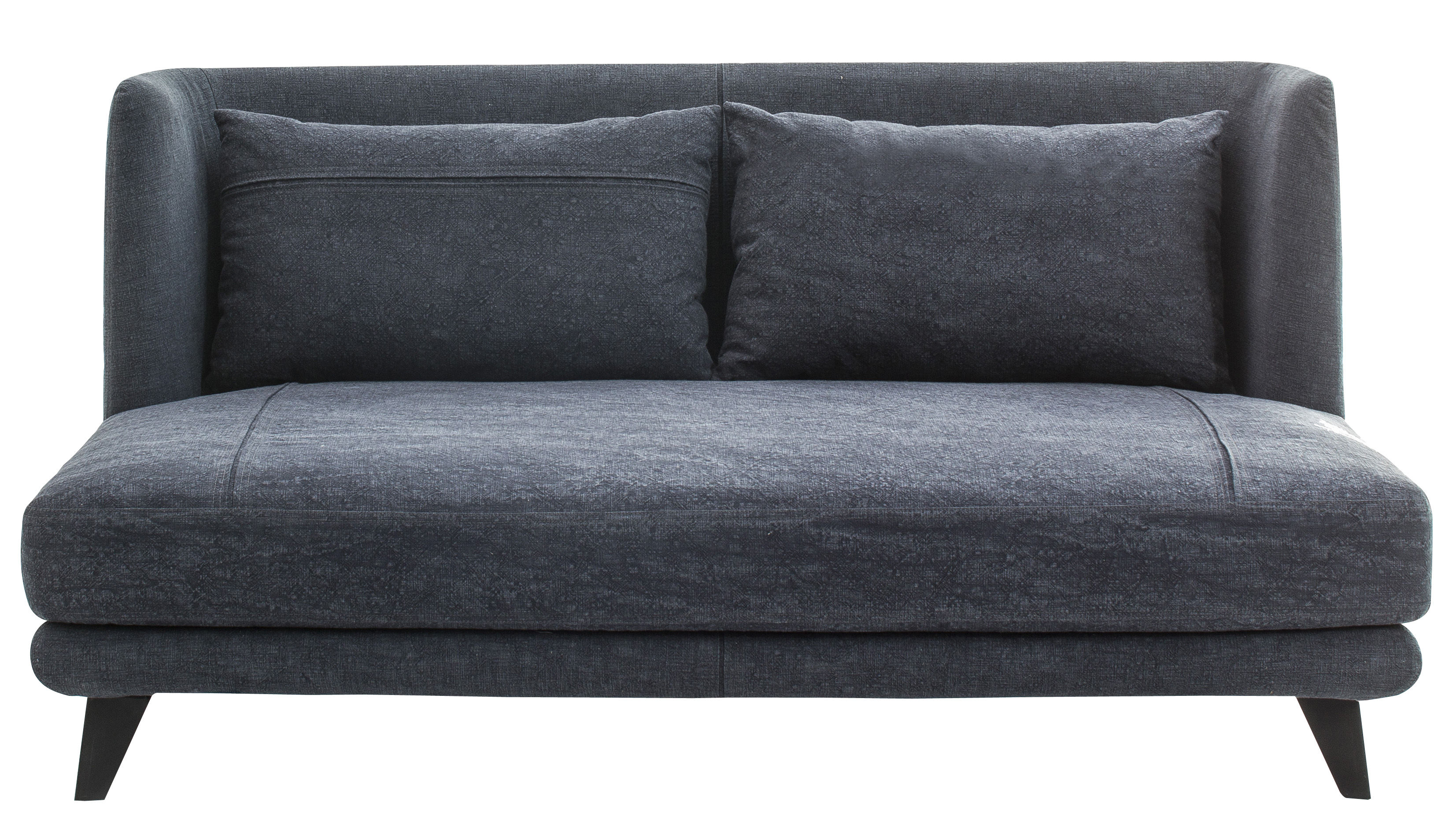 canap droit gimme more l 160 cm 2 places bleu jean fonc diesel with moroso. Black Bedroom Furniture Sets. Home Design Ideas