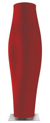 Pot de fleurs Missed tree I / H 159 cm - Serralunga rouge en métal