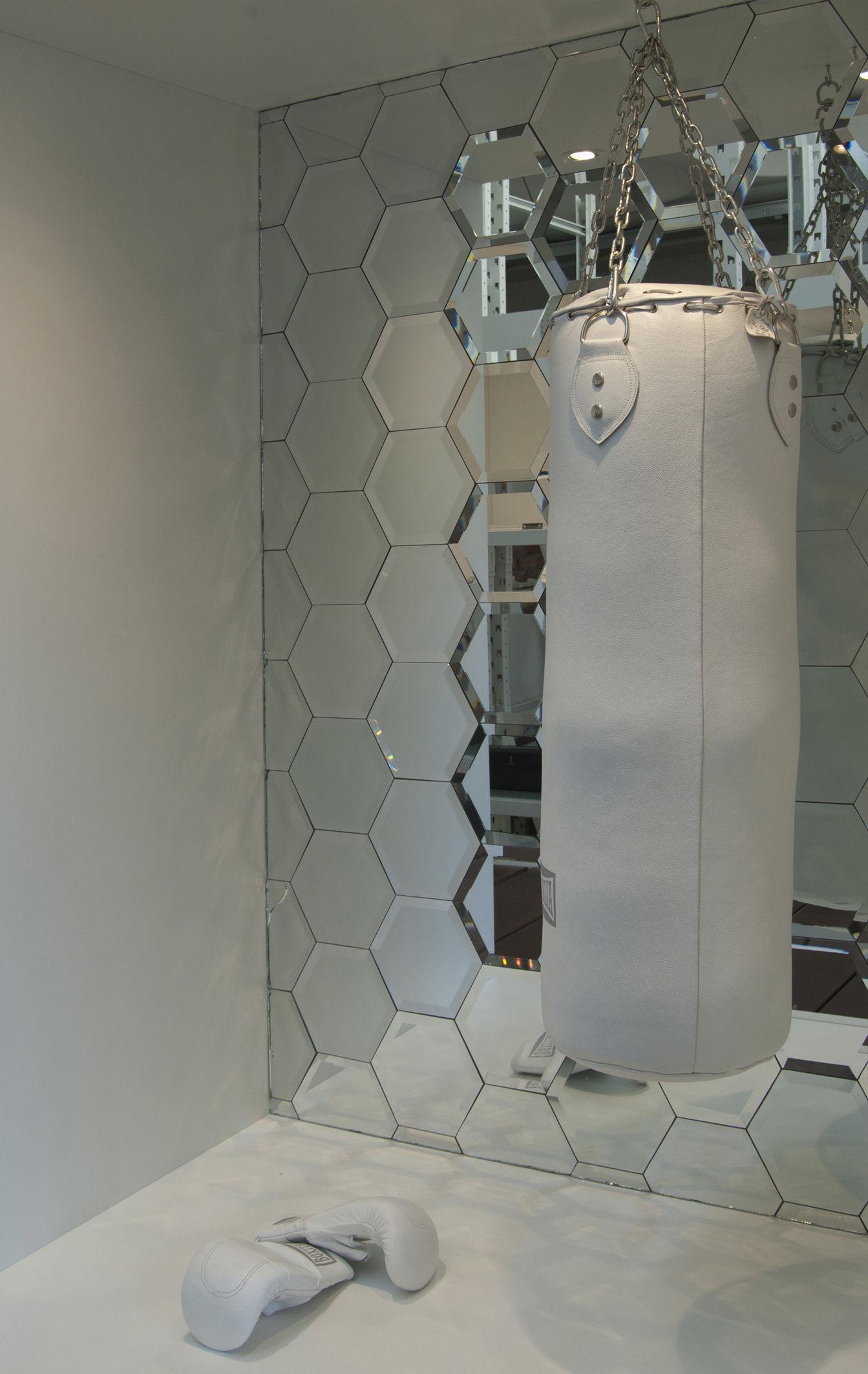 Scopri Specchio Autocollante Mirrorize Hexagone 20x20