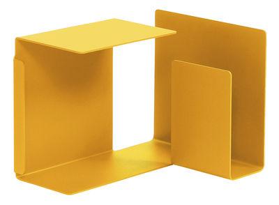 Tavolino Diana C di ClassiCon - Giallo miele - Metallo