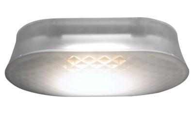 Foto Applique Vitro - LED / Plafoniera di Fontana Arte - Satinato - Materiale plastico